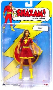 DC Direct Shazam! Action Figure Mary Marvel [Red Outfit]