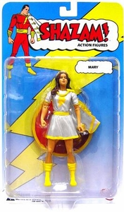 DC Direct Shazam! Action Figure Mary Marvel [White Variant]