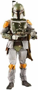 Star Wars Medicom 12 Inch Deluxe Collectible Figure Boba Fett Damaged Box
