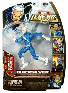 Marvel Legends Series 17 (Hasbro Series 2) Action Figure Quicksilver (Blue) [Blob Build-A-Figure]