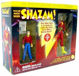 DC Direct Shazam! Deluxe Action Figure 2-Pack Billy Batson & Shazam!