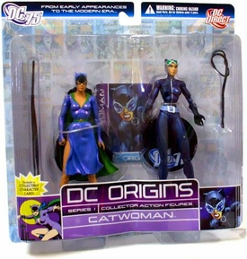 DC Direct Origins Series 1 Collector Action Figure 2-Pack Catwoman