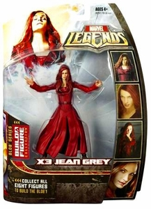 Marvel Legends Series 17 (Hasbro Series 2) Action Figure X3 Jean Grey [Blob Build-A-Figure]