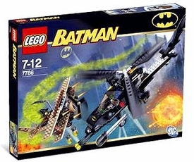 LEGO Batman Set #7786 Batcopter: Chase for the Scarecrow