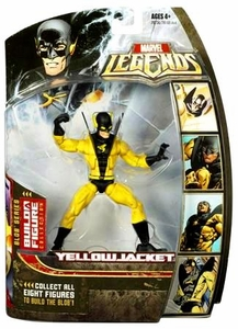 Marvel Legends Series 17 (Hasbro Series 2) Action Figure Yellowjacket [Blob Build-A-Figure]
