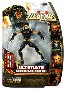 Marvel Legends Series 17 (Hasbro Series 2) Action Figure Ultimate Wolverine [Blob Build-A-Figure]