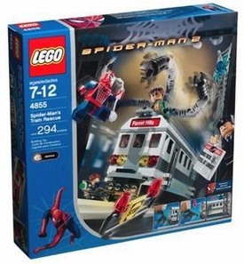 LEGO Spider-Man 2 Set #4855 Spider-Man's Train Rescue