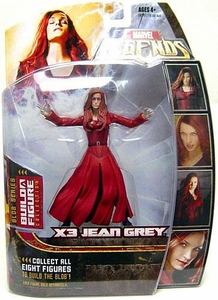 Marvel Legends Series 17 (Hasbro Series 2) Action Figure X-Men 3 Jean Grey (Possessed variant) [Blob Build-A-Figure]