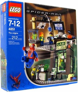 LEGO Spider-Man Set #4851 The Origins