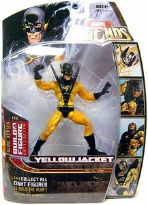 Marvel Legends Series 17 (Hasbro Series 2) Action Figure Yellowjacket (Variant) [Blob Build-A-Figure]