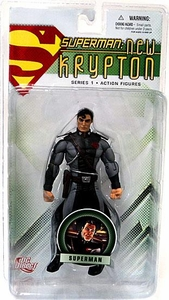 DC Direct Superman New Krypton Series 1 Action Figure Superman [Security Outfit]
