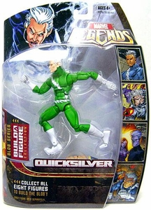Marvel Legends Series 17 (Hasbro Series 2) Action Figure Quicksilver (Green Variant) [Blob Build-A-Figure]