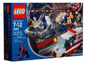 LEGO Spider-Man Set #4857 Doc Ock's Fusion Lab