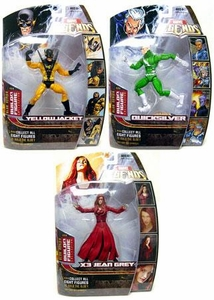 Marvel Legends Series 17 (Hasbro Series 2) Action Figure Set of All 3 Variants [Blob Build-A-Figure]