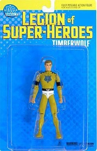 DC Direct Legion of Super Heroes Action Figure Timber Wolf