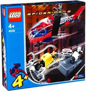 LEGO Spider-Man 2 Set #4858 Doc Ock's Crime Spree