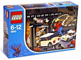 LEGO Spider-Man Set #4850 Spider-Man's First Chase