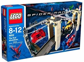 LEGO Spider-Man Set #4852 The Final Showdown Box Has Slight Tear, Mint Contents!
