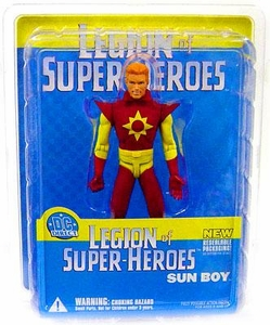 DC Direct Legion of Super Heroes Action Figure Sun Boy