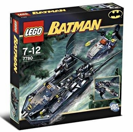 LEGO Batman Set #7780 Batboat: Hunt for Killer Croc Damaged Package, Mint Contents!