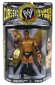 WWE Wrestling Classic Superstars Series 19 Action Figure The Rock