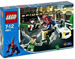 LEGO Spider-Man 2 Set #4854 Doc Ock's Bank Robbery