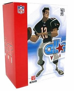 Upper Deck Authenticated All Star Vinyl Figure Tom Brady (Blue Home Jersey) Limited to 1000 Pieces