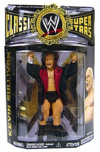 WWE Wrestling Classic Superstars Series 19 Action Figure Kevin Sullivan
