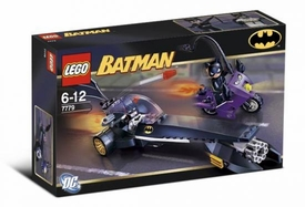 LEGO Batman Set #7779 Dragster Catwoman Pursuit [This is a Small Set!] Damaged Package, Mint Contents!