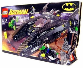 LEGO Batman Set #7787 Bat Tank: Riddler & Bane's Hideout Damaged Package, Mint Contents!