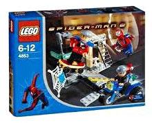 LEGO Spider-Man 2 Set #4853 Spider-Man's Street Chase