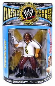 WWE Wrestling Classic Superstars Series 19 Action Figure Mankind [LJN Style]