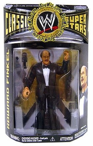 WWE Wrestling Classic Superstars Series 19 Action Figure Howard Finkel