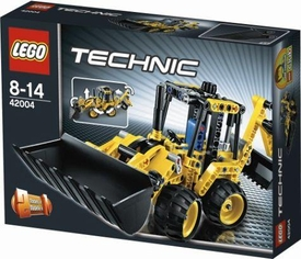 LEGO Technic Set #42004 Mini Backhoe Loader