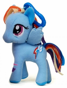 My Little Pony Friendship is Magic 3 Inch Plush Clip Rainbow Dash