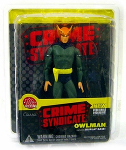 DC Direct Crime Syndicate Action Figure Owlman