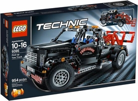 LEGO Technic Exclusive Set #9395 Pick-Up Tow Truck