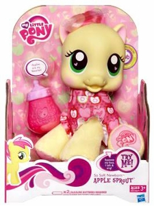 My Little Pony So Soft Newborn Apple Sprout