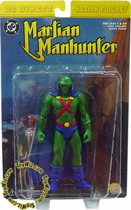 DC Direct Action Figure Martian Manhunter Damaged Package, Mint Contents!