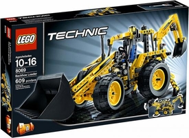 LEGO Technic Set #8069 Backhoe Loader