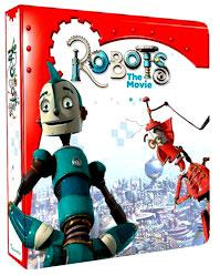 Robots the Movie Trading Cards Collector's Binder Album