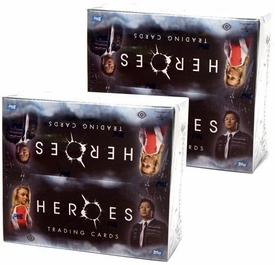 Heroes Topps Series 1 Trading Cards 2 Factory Sealed Boxes