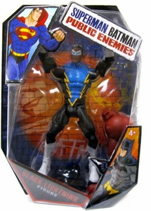 Mattel DC Superman Batman Public Enemies Action Figure Black Lightning [Build Brimstone Piece!]