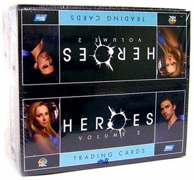 Heroes Topps Series 2 Trading Cards Hobby Edition Factory Sealed Box [24 Packs]