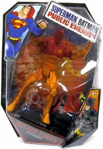 Mattel DC Superman Batman Public Enemies Action Figure Major Force [Build Brimstone Piece!]