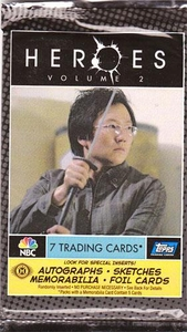 Heroes Topps Series 2 Trading Cards Hobby Edition Pack