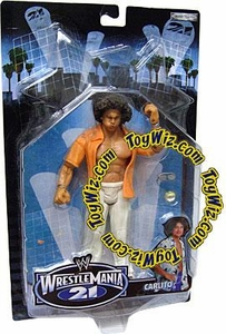 WWE Jakks Pacific Wrestlemania XXI 21 Exclusive Series 3 Action Figure Carlito