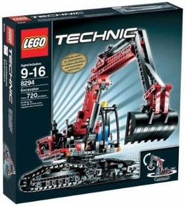 LEGO Technic Set #8294 Excavator