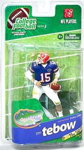 McFarlane Toys NCAA COLLEGE Football Sports Picks Series 3 Action Figure Tim Tebow (Florida Gators) White Pants