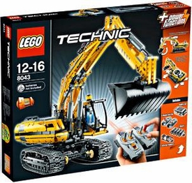 LEGO Technic Set #8043 Motorized Excavator